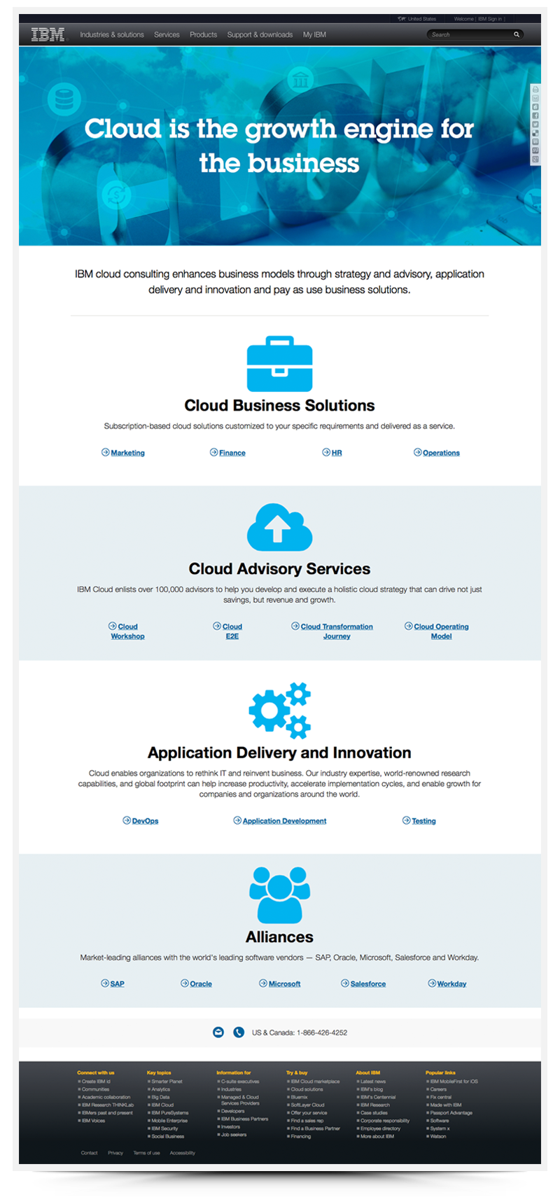 IBM GBS Cloud